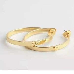 Tory Burch Kira Gold Hoops